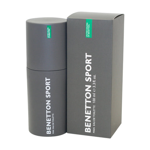 BES1M - Benetton Sport Eau De Toilette for Men - Spray - 3.3 oz / 100 ml
