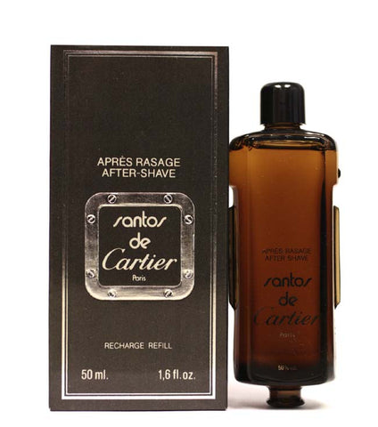 SA766M - Santos De Cartier Aftershave for Men - 1.6 oz / 47.5 ml
