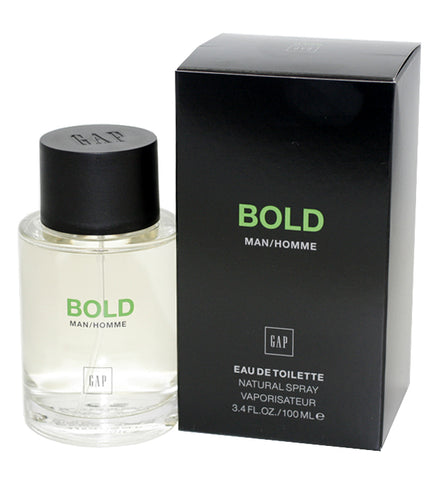 GAB10M - Gap Bold Eau De Toilette for Men - Spray - 3.4 oz / 100 ml