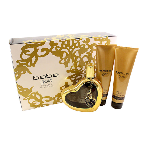 BBG34 - Bebe Gold 3 Pc. Gift Set for Women