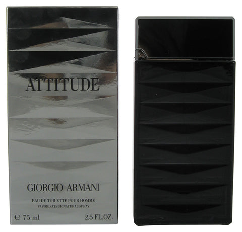 AT02M - Armani Attitude Eau De Toilette for Men - Spray - 2.5 oz / 75 ml