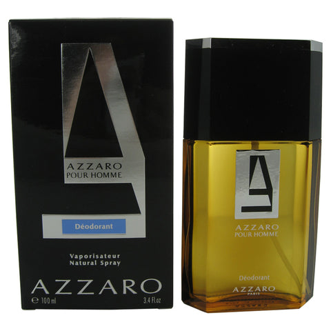 AZ14M - Azzaro Deodorant for Men - Spray - 3.4 oz / 100 ml