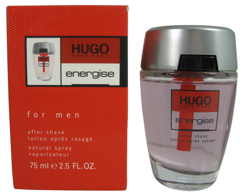 HUG5M - Hugo Energise Aftershave for Men - 2.5 oz / 75 ml
