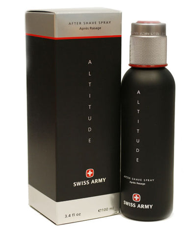 SW11M - Swiss Army Altitude Aftershave for Men - 3.4 oz / 100 ml