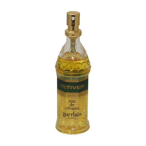 VE33M - Vetiver Guerlain Eau De Cologne for Men - Spray - 3.4 oz / 100 ml - Tester