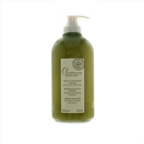 PG65W - Perlier Olivarium With Pure Olive Oil Bath & Shower Cream  for Women - 16.9 oz / 500 ml
