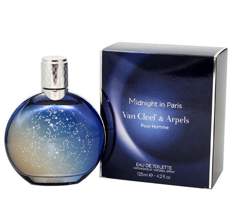 VCM42M - Midnight In Paris Eau De Toilette for Men - Spray - 4.2 oz / 125 ml