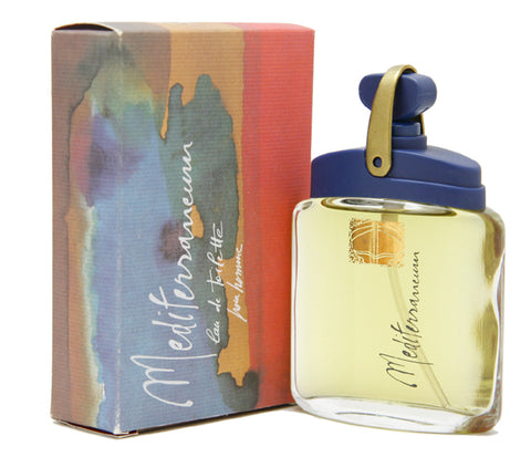 ME19M - Mediterraneum Eau De Toilette for Men - Spray - 1.7 oz / 50 ml