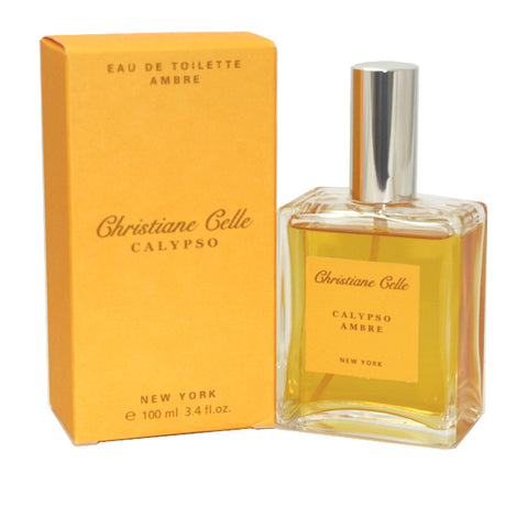 CALY14 - Calypso Ambre Eau De Toilette for Women - 3.4 oz / 100 ml Spray
