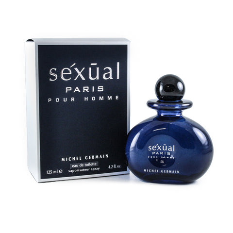 SEXP4M - Sexual Paris Eau De Toilette for Men - 4.2 oz / 125 ml Spray