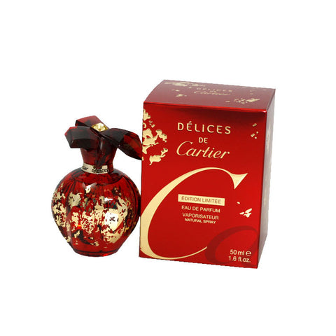 DEC17W - Delices De Cartier Eau De Parfum for Women - Spray - 1.6 oz / 50 ml - Limitied Edition