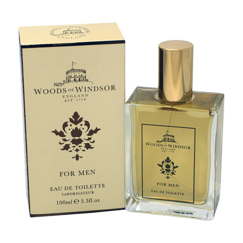 WOW33M - Woods Of Windsor Eau De Toilette for Men - 3.3 oz / 100 ml Spray