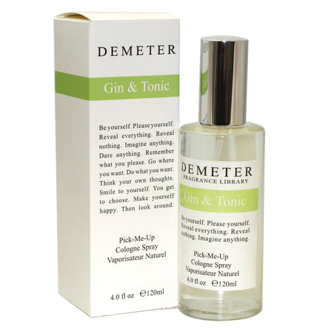 DEM15W-P - Gin & Tonic Cologne for Women - 4 oz / 120 ml Spray
