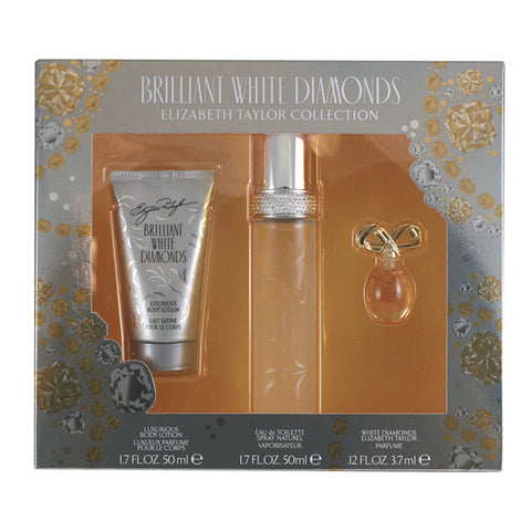 WHI4W-F - Brilliant White Diamonds 3 Pc. Gift Set for Women