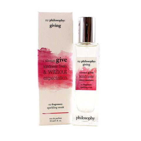 MPHG01 - My Philosohy Giving Eau De Parfum for Women - 1 oz / 30 ml Spray