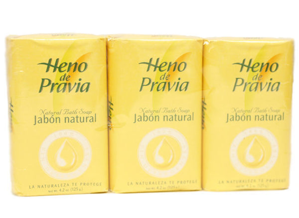 HEP12 - Heno De Pravia Soap for Women - 3 Pack - 4.2 oz / 125 ml - Pack