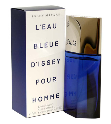 LE12M - L'Eau Bleue D'Issey Pour Homme Eau De Toilette for Men - 2.5 oz / 75 ml Spray