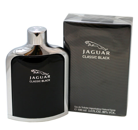 JCB34M - Jaguar Classic Black Eau De Toilette for Men - 3.4 oz / 100 ml Spray