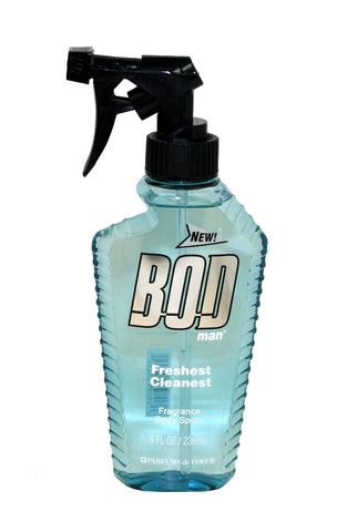 BOD80 - Bod Man Freshest Cleanest Body Spray for Men - 8 oz / 236 ml