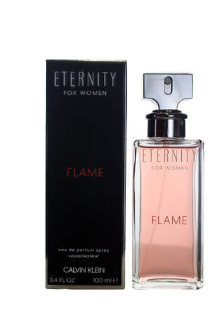 EF34 - Calvin Klein Eternity Flame Eau De Parfum for Women - 3.4 oz / 100 ml - Spray