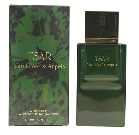 TS08M - Van Cleef & Arpels Tsar Eau De Toilette for Men | 1.6 oz / 50 ml - Spray - Unboxed