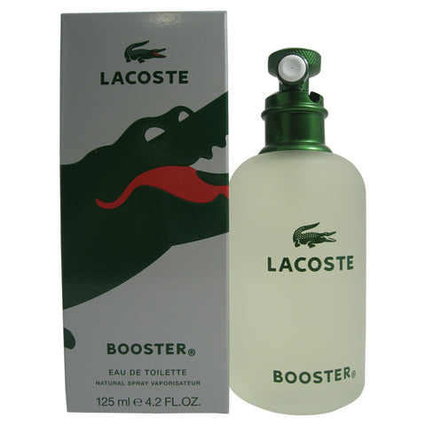 LA09M - Lacoste Booster Eau De Toilette for Men - 4.2 oz / 125 ml Spray