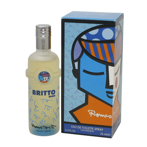 BRI12M-F - Britto Eau De Toilette for Men - Spray - 2.5 oz / 75 ml