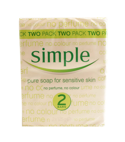 SPS23 - Simple Soap for Women - 2 Pack - 4 oz / 120 g