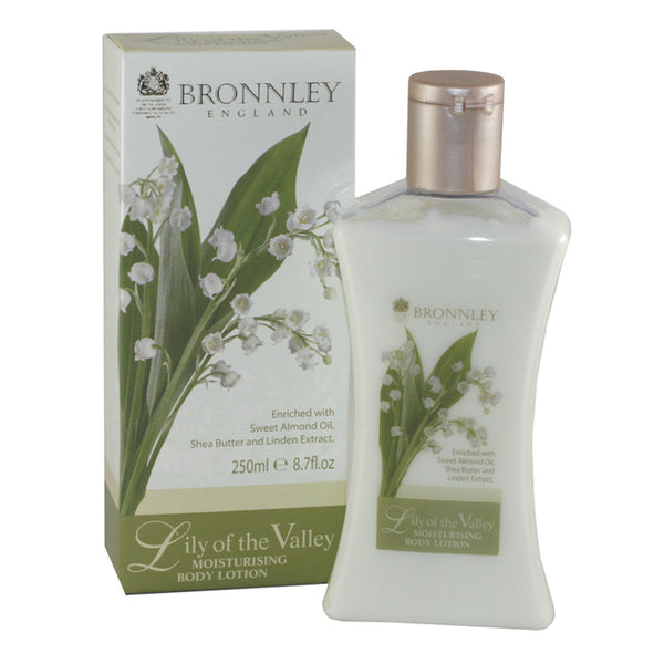 BRO20 - Bronnley Lily Of The Valley. Body Lotion for Women - 8.4 oz / 250 ml