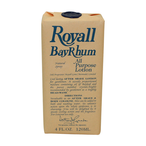R780M - Royall Bayrhum Of Bermuda Cologne Aftershave for Men - Spray/Splash - 4 oz / 120 ml