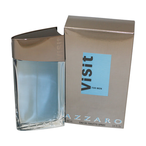 AZV1M - Visit Eau De Toilette for Men - Spray - 3.4 oz / 100 ml