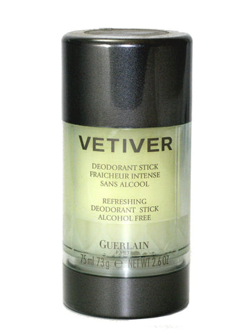 VE61M - Vetiver Guerlain Deodorant for Men - Stick - 2.6 oz / 75 ml - Alcohol Free