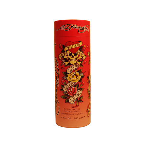 EDH12 - Ed Hardy Eau De Parfum for Women - Spray - 3.4 oz / 100 ml