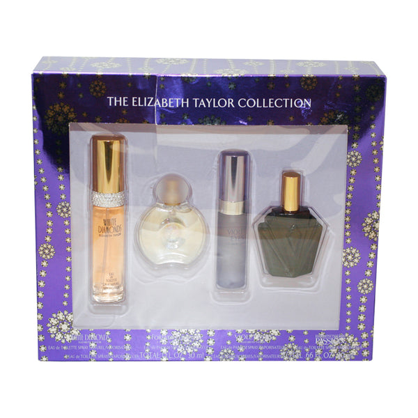 ETC12 - The Elizabeth Taylor Collection 4 Pc. Gift Set For Women