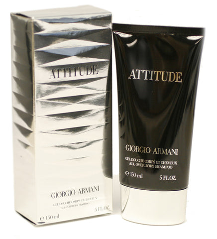 AT12M - Armani Attitude Body Shampoo for Men - 5 oz / 150 ml