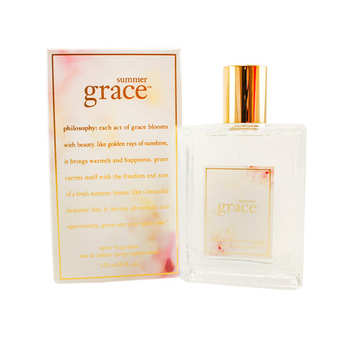 SG11 - Summer Grace Eau De Toilette for Women - 4 oz / 120 ml Spray