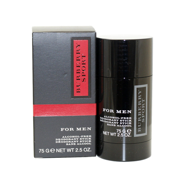 BUS87M - Burberry Sport Deodorant for Men - Stick - 2.5 oz / 75 g - Alcohol Free