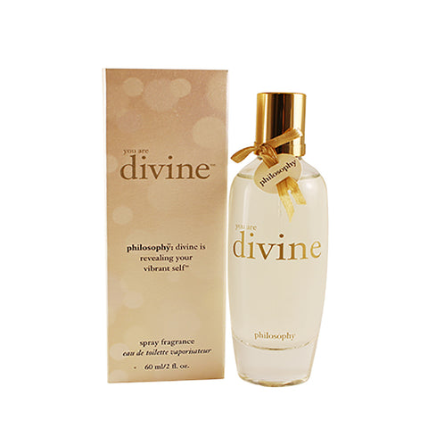 PDV20 - Philosophy You Are Divine Eau De Toilette for Women - Spray - 2 oz / 60 ml