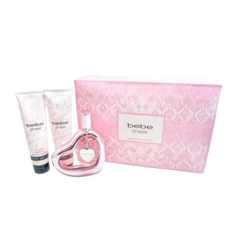 BBS30 - Bebe Sheer 3 Pc. Gift Set for Women