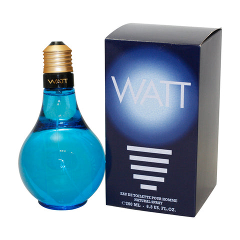 WAT11M - Watt Blue Eau De Toilette for Men - 6.8 oz / 200 ml Spray