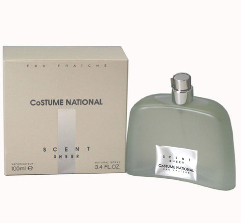 COS13W-F - Costume National Scent Sheer Eau Fraiche for Women - Spray - 3.4 oz / 100 ml