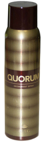 QU58M - Quorum Deodorant for Men - Spray - 5 oz / 150 ml
