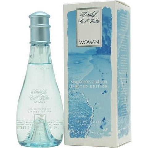 COOW-P - Cool Water Deep Sea And Sand Eau De Toilette for Women - Spray - 3.4 oz / 100 ml - Limited Edition 2005