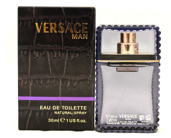 VER40M - Versace Man Eau De Toilette for Men - Spray - 1 oz / 30 ml