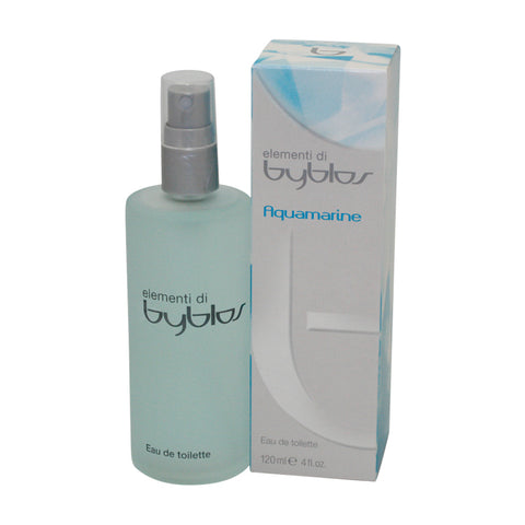 BAM40 - Byblos Aquamarine Eau De Toilette for Women - 4 oz / 120 ml Spray