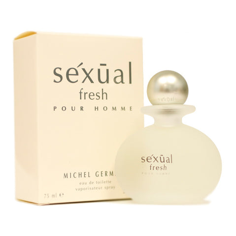 SEXF2M - Sexual Fresh Eau De Toilette for Men - 2.5 oz / 75 ml Spray