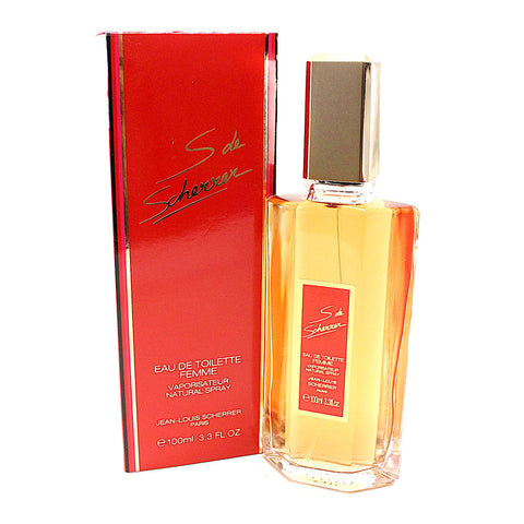 SDS33 - S De Scherrer Eau De Toilette for Women - 3.3 oz / 100 ml Spray