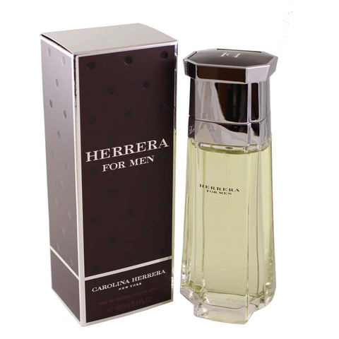 HE28M - Herrera Eau De Toilette for Men - 3.4 oz / 100 ml Spray