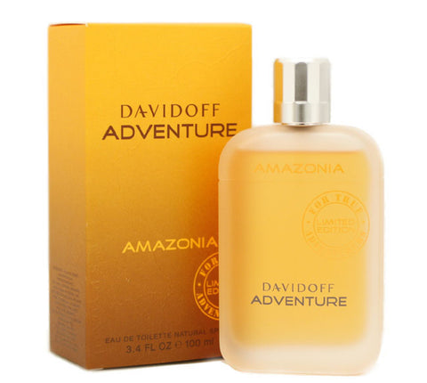 DAVS5M - Davidoff Adventure Amazonia Eau De Toilette for Men - Spray - 3.4 oz / 100 ml