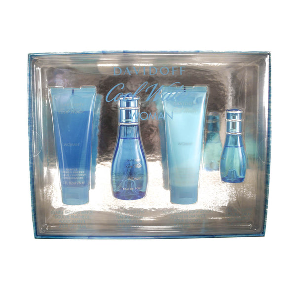 CO412 - Cool Water 4 Pc. Gift Set for Women